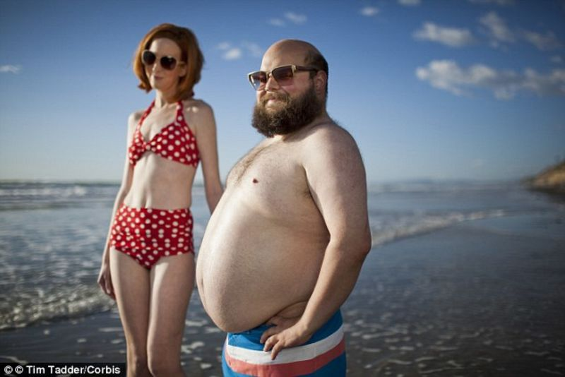 It's cliche how guys let themselves go while women take care of themselves